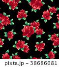 薔薇 花 花柄のイラスト 38686681