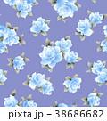 薔薇 花 花柄のイラスト 38686682