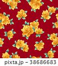 薔薇 花 花柄のイラスト 38686683