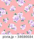薔薇 花 花柄のイラスト 38686684