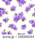 薔薇 花 花柄のイラスト 38686694