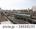 上野駅で展示される烏山線アキュム 38688295