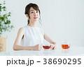 若い女性(紅茶) 38690295