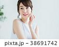女性 若い 顔の写真 38691742