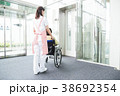 介護 シニア 女性 病院 38692354