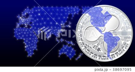 仮想通貨_サイバーイメージ 38697095