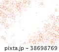 桜 花 フレームのイラスト 38698769