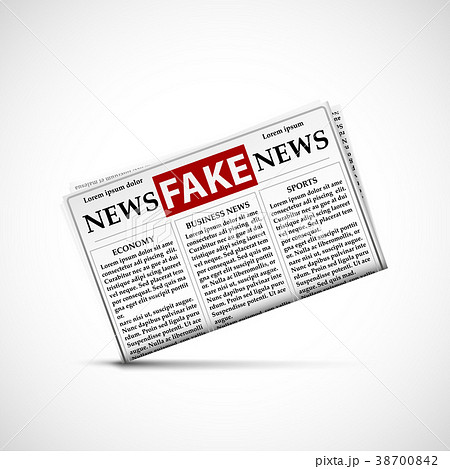 Fake news in daily newspapers 38700842