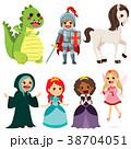 妖精 物語 キャラクターのイラスト 38704051