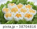 ゆで卵 卵 食品の写真 38704816