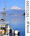富士山 山 海の写真 38721300
