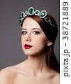 Beautiful princess with tiara  38721889