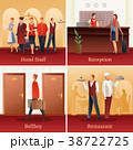 Hotel People Flat Compositions  38722725
