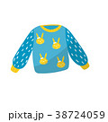 セーター 小さい 幼いのイラスト 38724059
