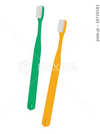 歯ブラシ2本 38726582