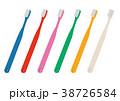 歯ブラシのイラストセット 38726584