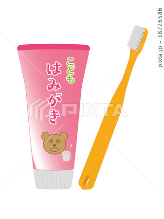 こども用歯磨きと歯ブラシ 38726586