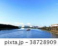 都市風景(東京都、大井、夏) 38728909