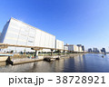 都市風景(東京都、大井、夏) 38728921