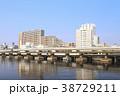 都市風景(東京都、天王洲アイル、夏) 38729211