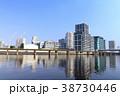 都市風景(東京、品川シーサイド、夏) 38730446