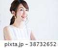 若い 女性 ポートレートの写真 38732652