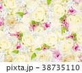 花柄 花 壁紙のイラスト 38735110
