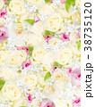 花 壁紙 バラのイラスト 38735120