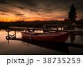 夕日 夕焼 日没の写真 38735259