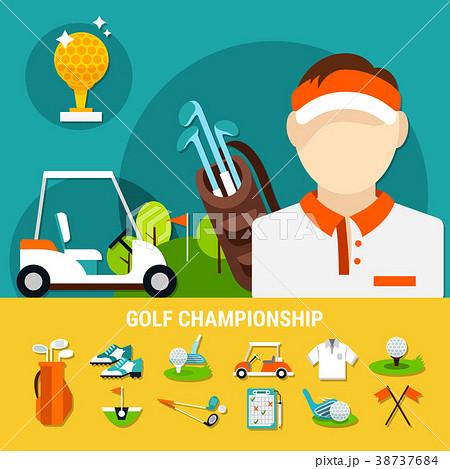 Golf Championship Concept 38737684