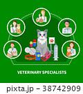 専門職 獣医 作曲のイラスト 38742909