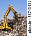 スクラップ 産業廃棄物 産廃の写真 38743431