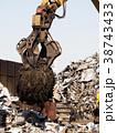 スクラップ 産業廃棄物 産廃の写真 38743433