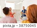 creative team celebrating success 38750045