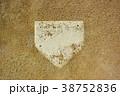 砂かぶりのホームベース 38752836