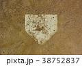 砂かぶりのホームベース 38752837