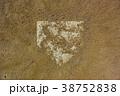 砂かぶりのホームベース 38752838