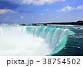 青空とナイアガラの滝 38754502