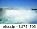 虹とナイアガラの滝 38754503