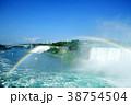 虹とナイアガラの滝 38754504