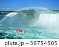 虹とナイアガラの滝 クルーズ 38754505