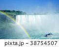 虹とナイアガラの滝 クルーズ 38754507