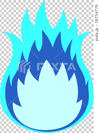 Blue flame 38754776
