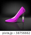 ベクトル 靴 女性達のイラスト 38756662