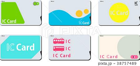 日本の交通ICカードセット 38757489