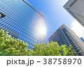 高層ビル ビル オフィス街の写真 38758970