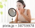 女性 ライフスタイル 鏡の写真 38759978