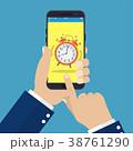 アラーム フォン 電話のイラスト 38761290