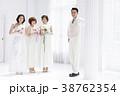 花嫁 ブライダル 人物の写真 38762354