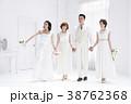 花嫁 ブライダル 人物の写真 38762368